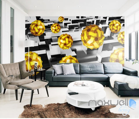 Image of 3D Puzzle Pendant Light 5D Wall Paper Mural Modern Art Print Decals Decor IDCWP-3DB-000005