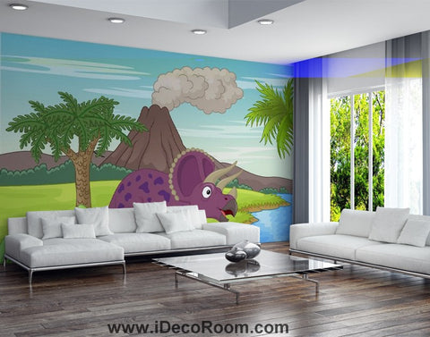 Image of Dinosaur Wallpaper Large Wall Murals for Bedroom Wall Art IDCWP-KL-000155
