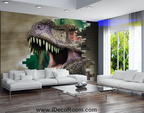 Image of Dinosaur Wallpaper Large Wall Murals for Bedroom Wall Art IDCWP-KL-000170