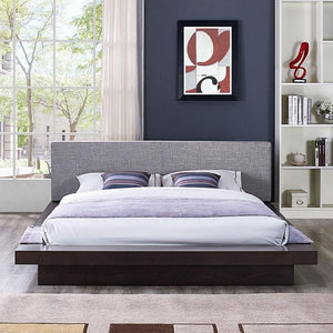 Oslo Queen Fabric Platform Bed Frames Free Shipping