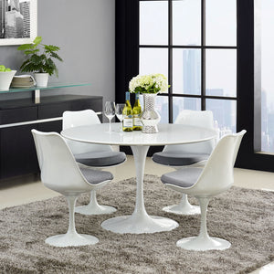 Tulip Style 40 Wood Top Dining Table Free Shipping