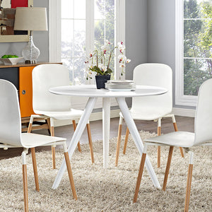Tulip Style Tripod Base 36 Dining Table Free Shipping