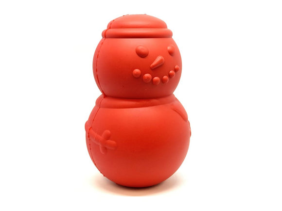 Snowman Chew Toy & Treat Dispenser