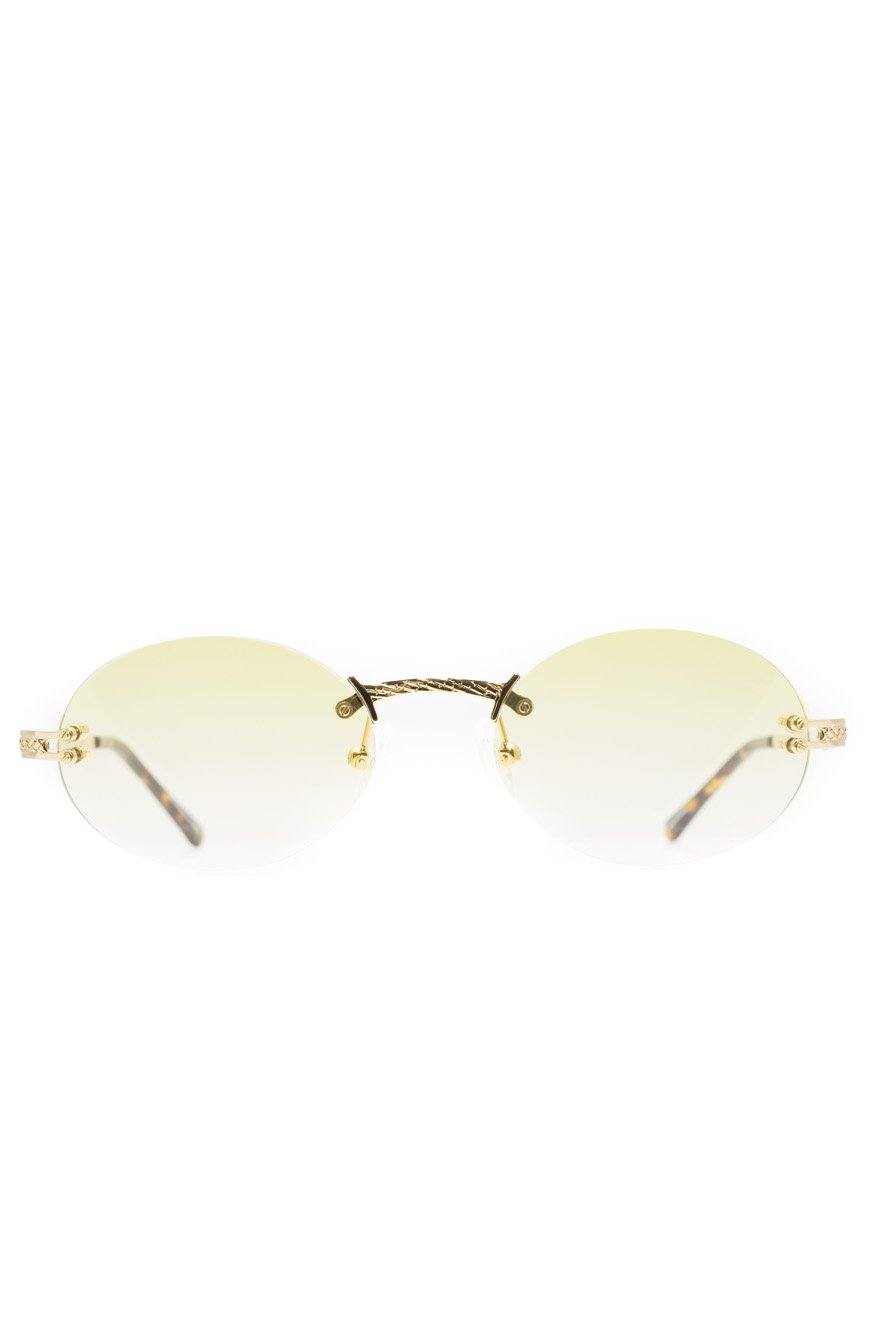The Helios Sunglasses in Yellow Gradient *NEW*