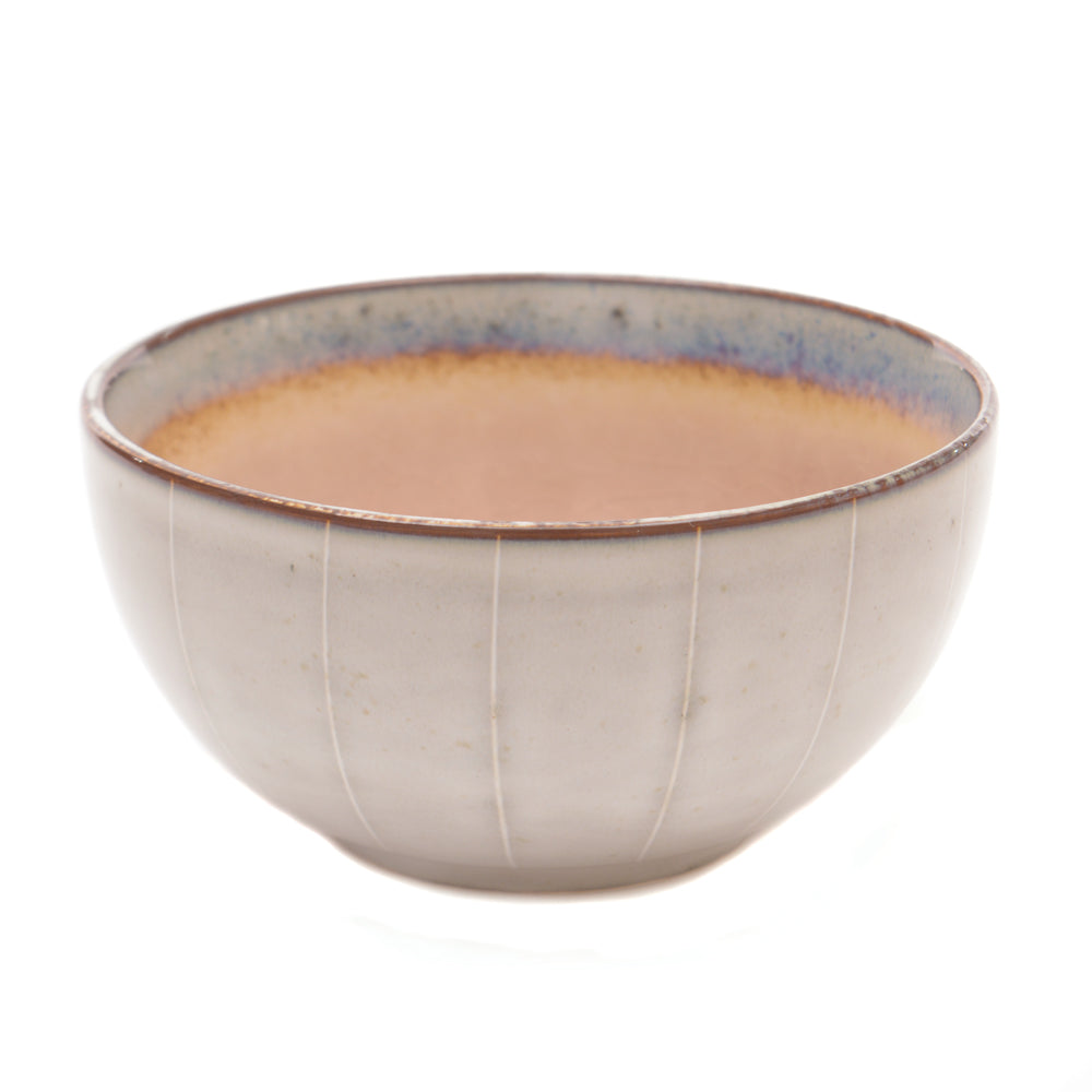 Dakara Ceramic Bowl with Dusky Pink Crackle Glaze - Chinese homewares- Rouge Shop antique stores London - city furniture