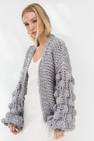 ELEANOR BUBBLE KNIT CARDIGAN