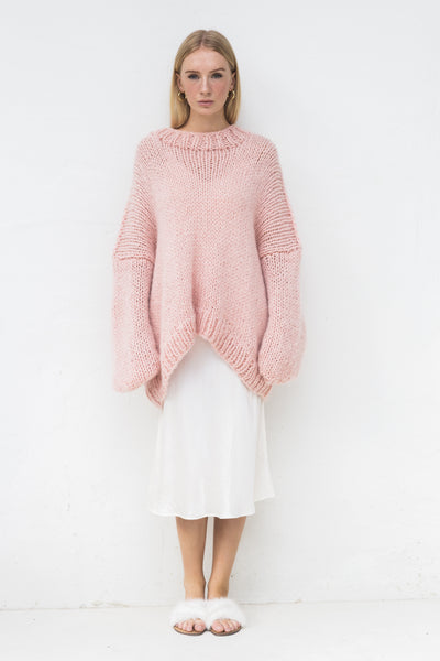 DESIREE OVERSIZE MERINO WOOL JUMPER