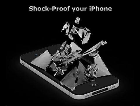 Dream Power TPU Anti-Shock Screen Protector for iPhone SE / 5S / 5 - CreatePros, LLC - 2