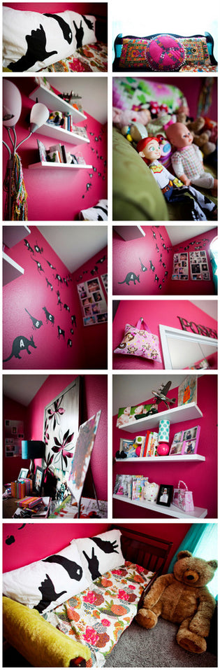 Posey's New Room