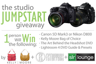 5D Mark 3 or Nikon D800 Studio Jumpstart Giveaway!