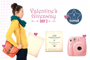 Valentine's Week Giveaway: Day THREE!!
