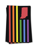 USI Flag PRIDE Sticker - United State of Indiana: Indiana-Made T-Shirts and Gifts