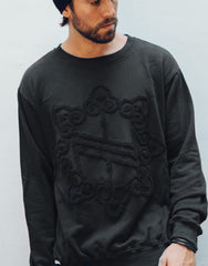 Nemis Towelling Logo Sweater Black Third