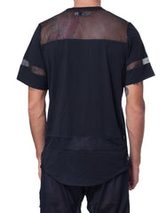 Bleach Hockey Mesh Tee Black