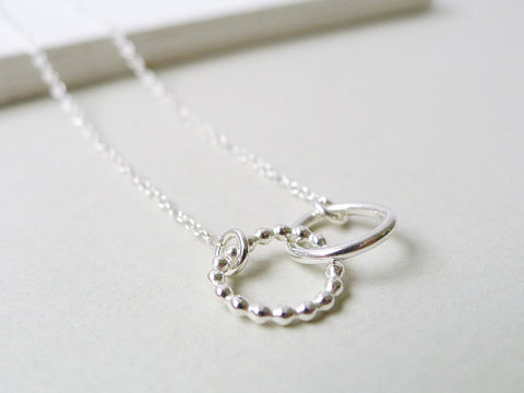 Saga Seed Necklace / 925 Silver