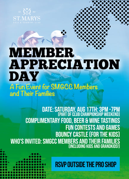 Member Appreciation Event | August 17th