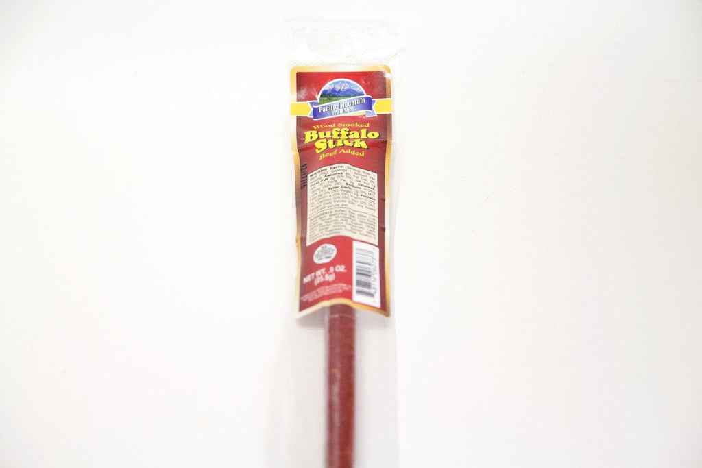 Pacific Mountain Farms Pacific Mountain Farms - Wood Smoked Buffalo Stick - Jerky Dynasty