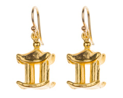 Pagoda Charm Earrings