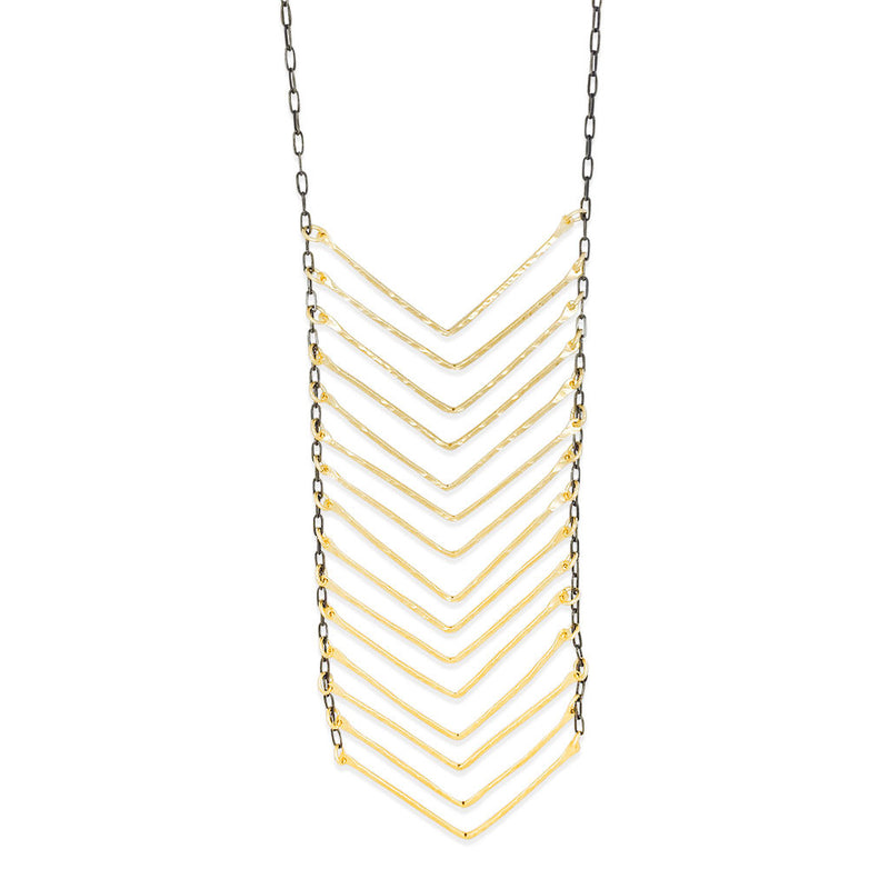 XL Chevron Necklace (N1535) - DanaReedDesigns