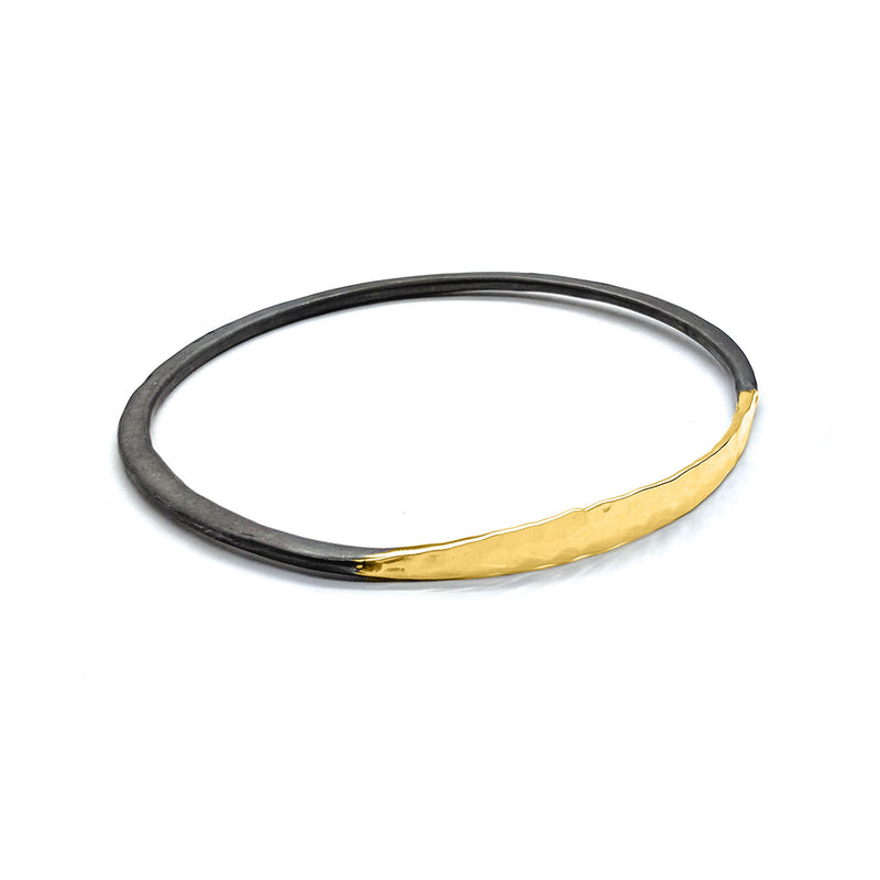 Satin Shiny Mobius Bangle (B342) - DanaReedDesigns