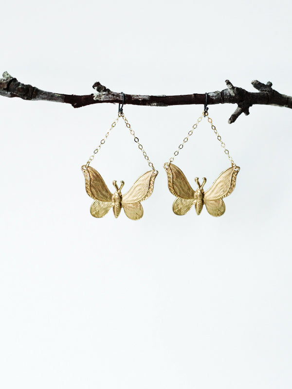 Fancy Creature Earrings: Butterfly