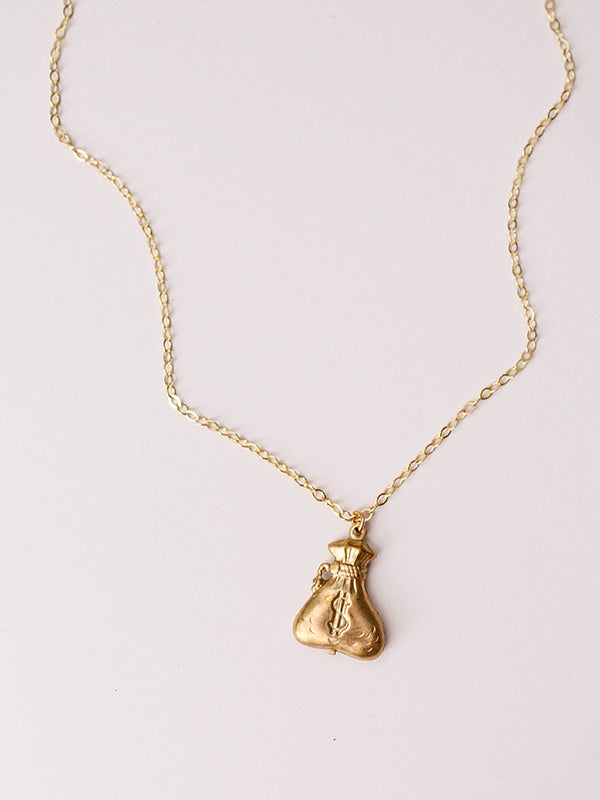 Lover Necklace: Money Bags