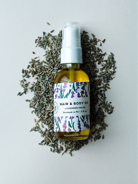 Lavender Fields Hair & Body Oil