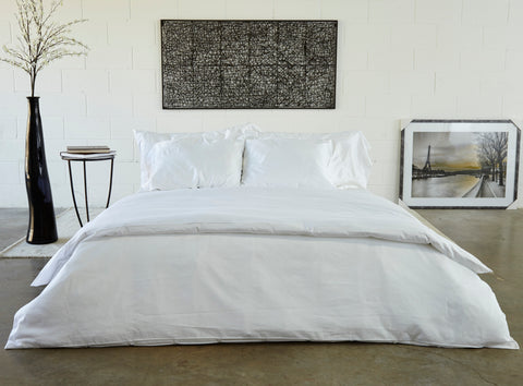 Pleated Organic Cotton Sheets by LifeTime Mattress