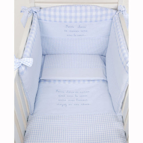 Baby's Cot Reducer - Blue