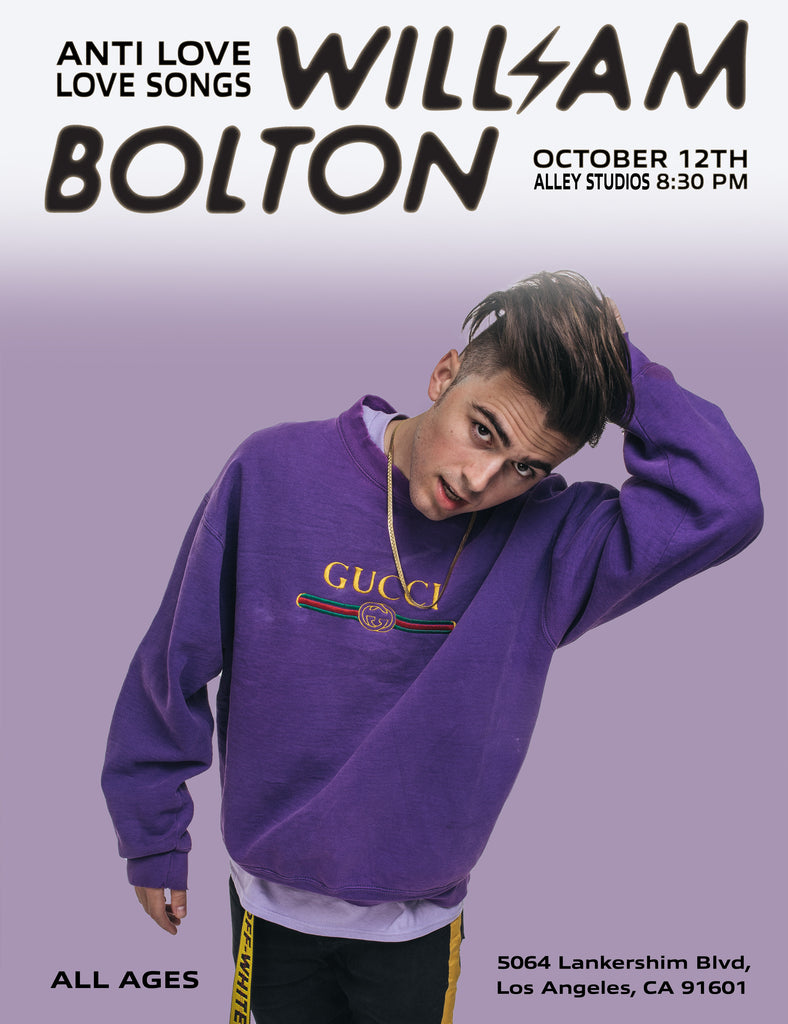 William Bolton live in LA 10/12
