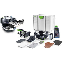 Festool Hand Held Edge Bander CONTURO KA 65 Set with MFT/3 Conturo Table