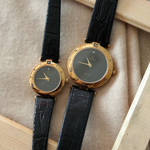 Vintage: Cadali Halcyon in Gold/Black (Petite)