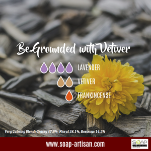 Soap Artisan | Be Grounded with Vetiver Essential Oil Blend