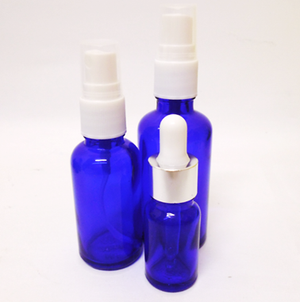Soap Artisan | Cobalt Blue Glass Bottles