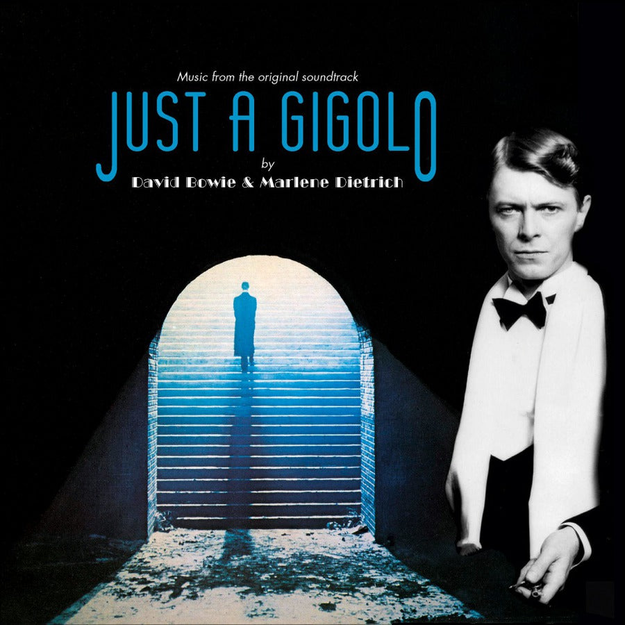 "[RSD19] David Bowie / Marlene Dietrich - Revolutionary Song / Just A Gigolo (7"", Blue Vinyl)"