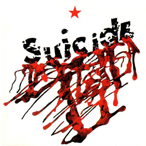 Suicide - s/t (LP, red vinyl inc booklet and art print)