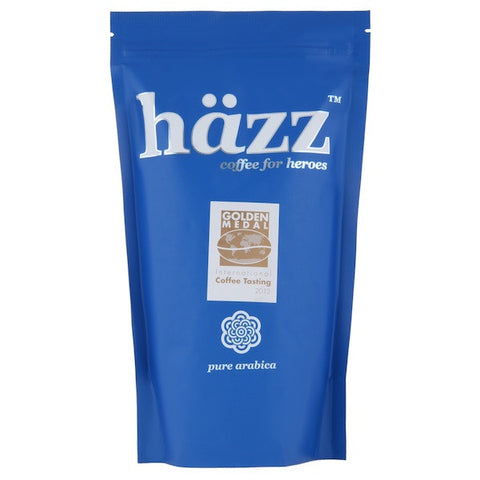 häzz coffee beans 250g bag front view