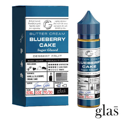Blueberry Cake by Basix Series by Glas E-Liquid-eLiquid-Basix Series by Glas E-Liquid-eLiquid.com