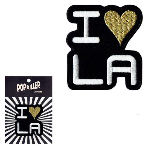 I Love LA Sew/Iron on Patch