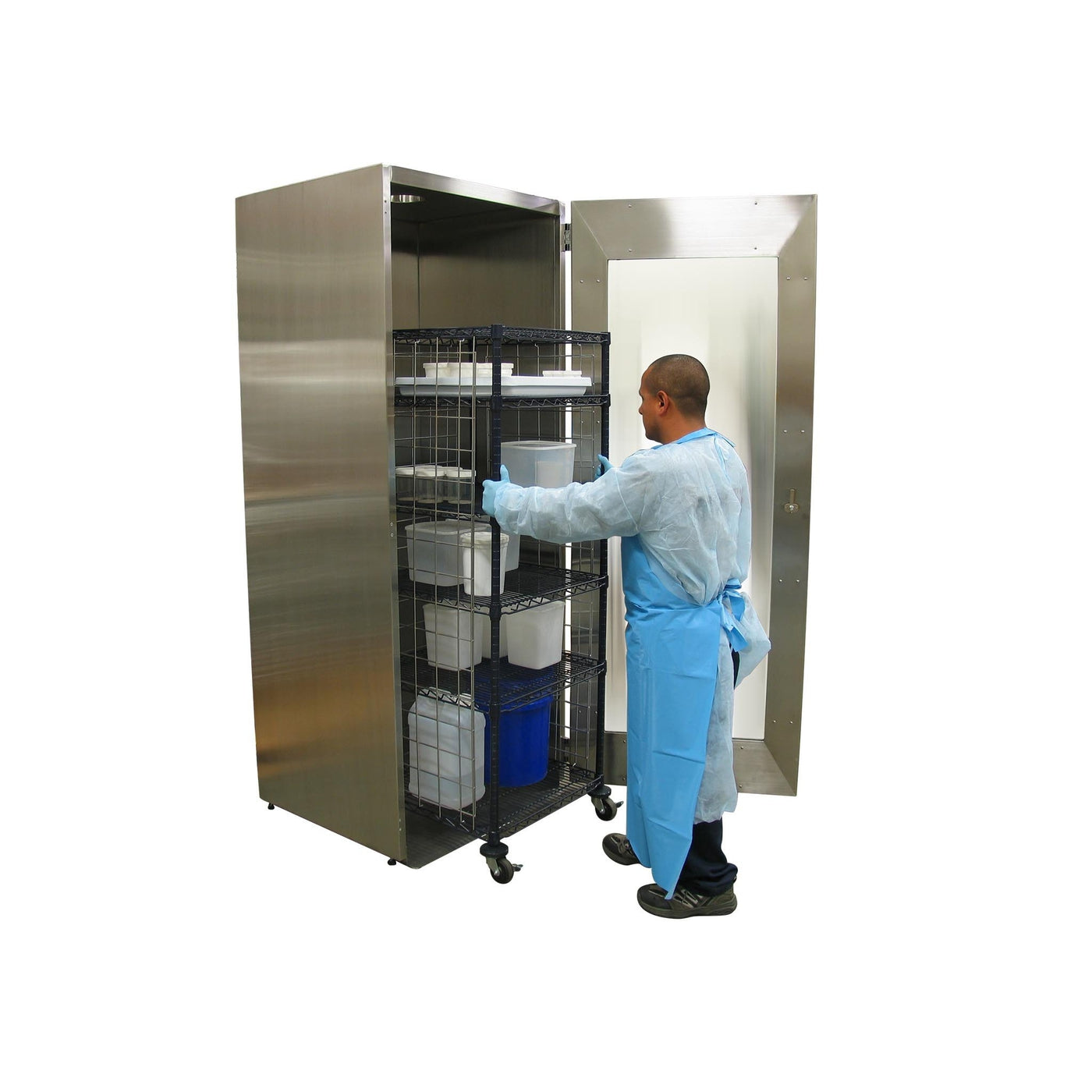 Ventilated Tissue Storage Cabinets-Sink Station-Mortech Manufacturing Company Inc. Quality Stainless Steel Autopsy, Morgue, Funeral Home, Necropsy, Veterinary / Anatomy, Dissection Equipment and Accessories