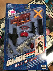 G.I. Joe A Real American Hero Hall Of Fame Red Beret Weapons Arsenal