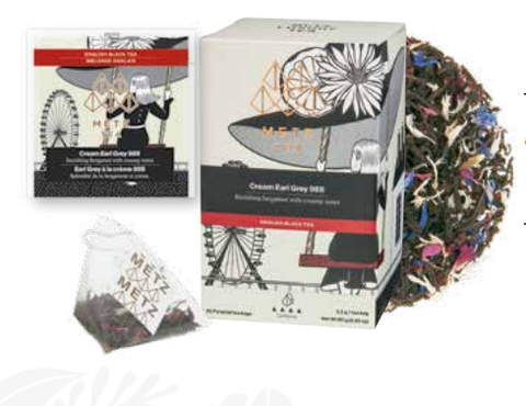 NEW! Gourmet Pyramid Loose-Leaf Teabags