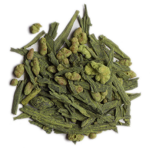 Genmaicha Extra Green with Matcha from Culinary Teas