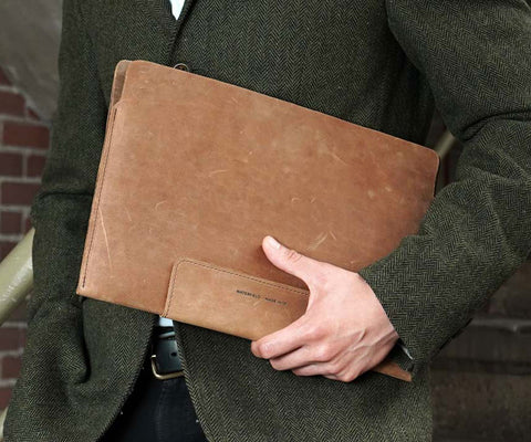 Leather Surface Sleeve
