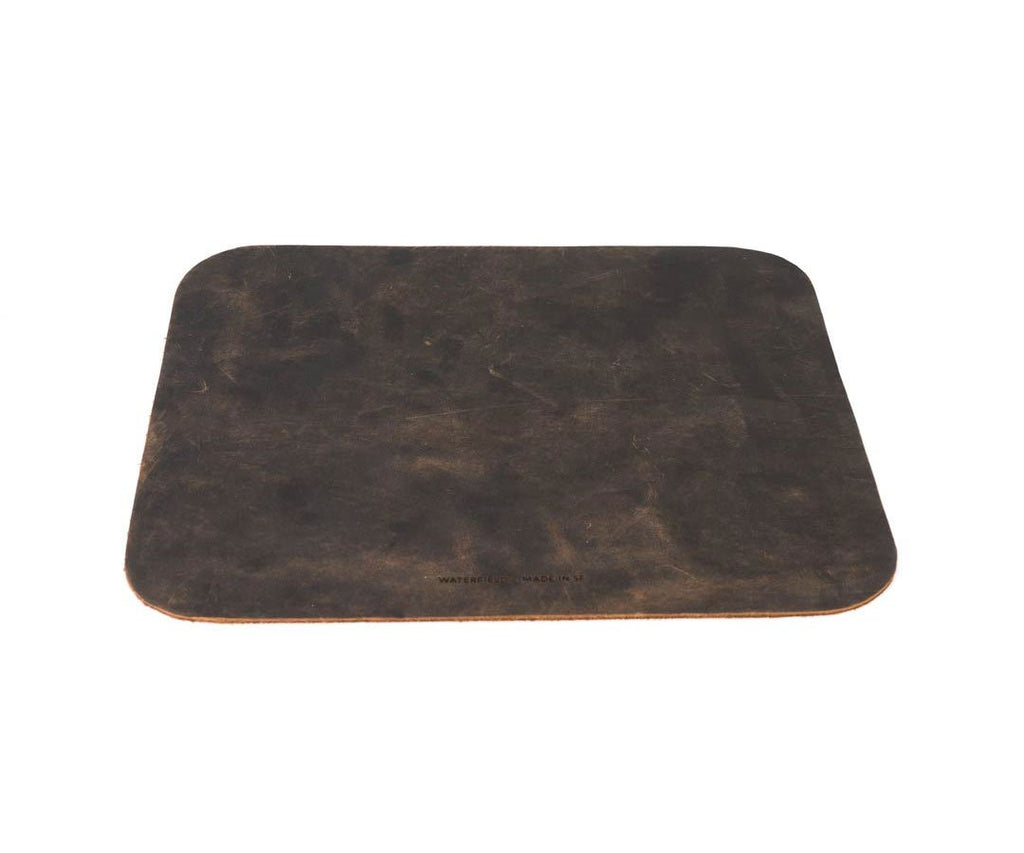 Chocolate Leather Mouse Pad
