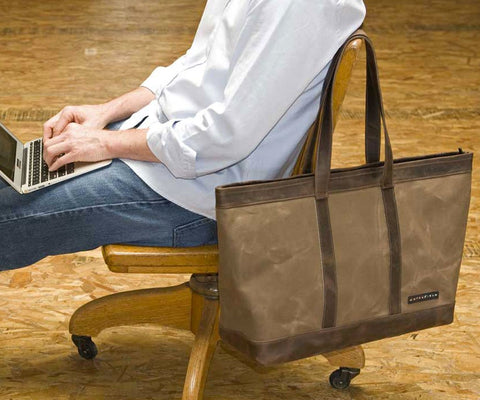 Outback Weekender Canvas Travel Tote