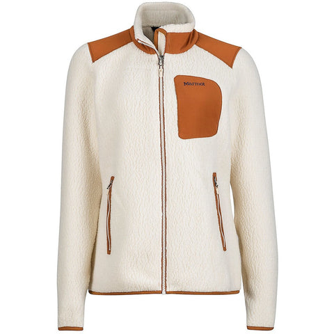 Ženski flis Marmot Willey Jacket (Cream/Terra)
