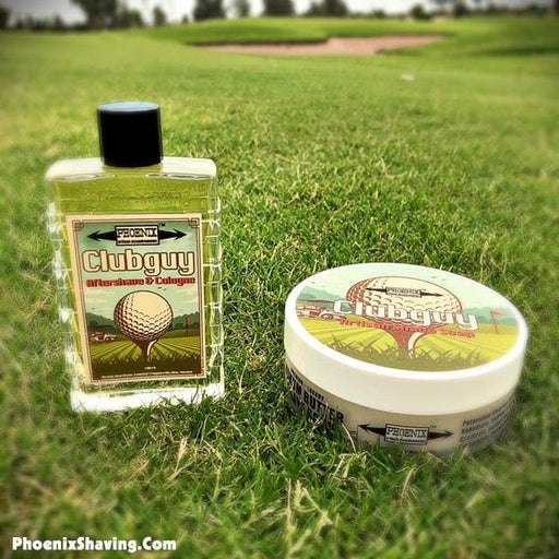 Clubguy Artisan Shaving Soap & Aftershave & Cologne - Bundle Deal! Tribute to the king of aftershaves! - Phoenix Artisan Accoutrements