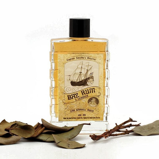 Captain Smythe's Reserve Oak Barrel Aged Bay Rum & Leather Aftershave/Cologne - Phoenix Artisan Accoutrements