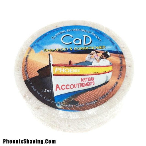 CaD Conditioning Shampoo Puck (W/ Yucca Root & Cider Vinegar) - Phoenix Artisan Accoutrements